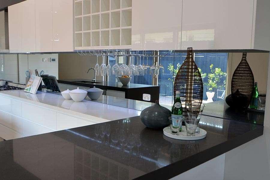 Splashbacks Orange Glass Amp Glazing Service