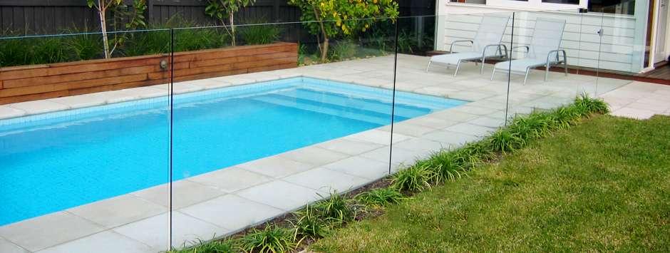 Pool Fencing Balustrade Orange Glass Glazing Service