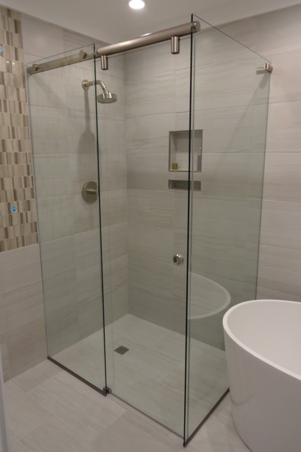 Frameless Showerscreens Orange Glass Amp Glazing Service