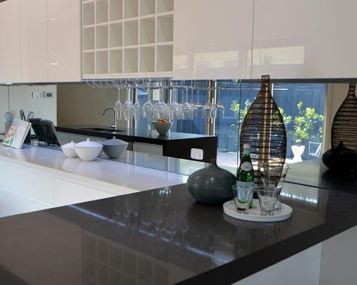 Mirror Shield Splashback
