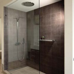 Fixed Frameless Showerscreen