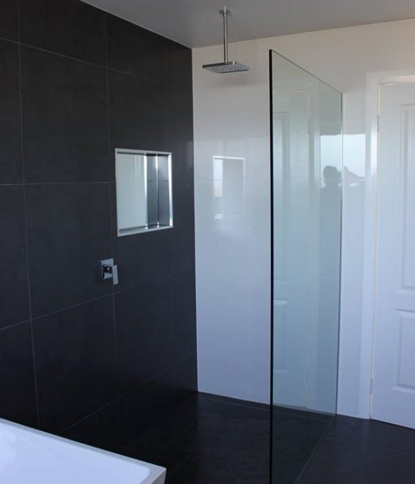 Fixed Frameless Shower Panel