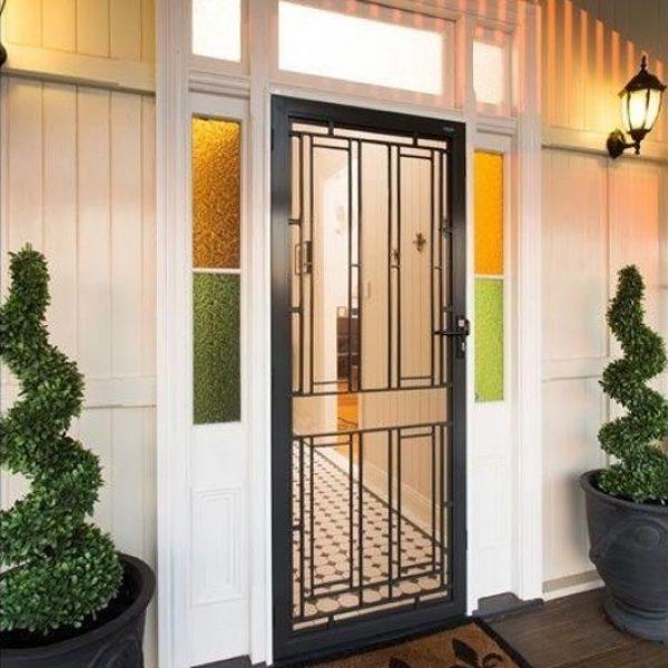 Colonial Cast Decorative Door