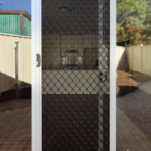 Diamond Grille Door