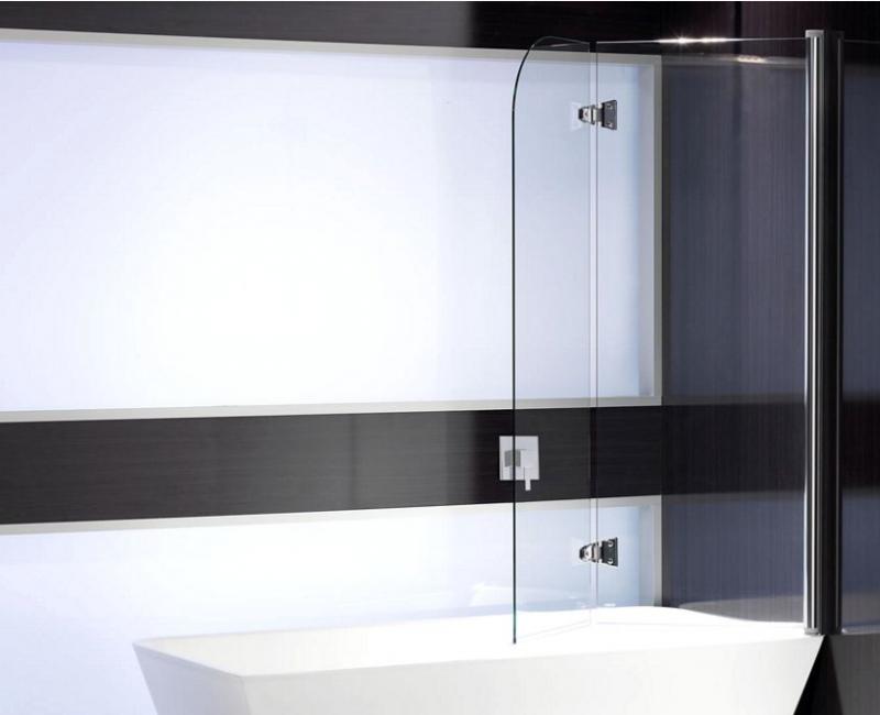 Round Bathscreen Duel Panel