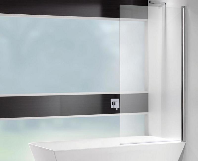 Square Bathscreen Single Panel