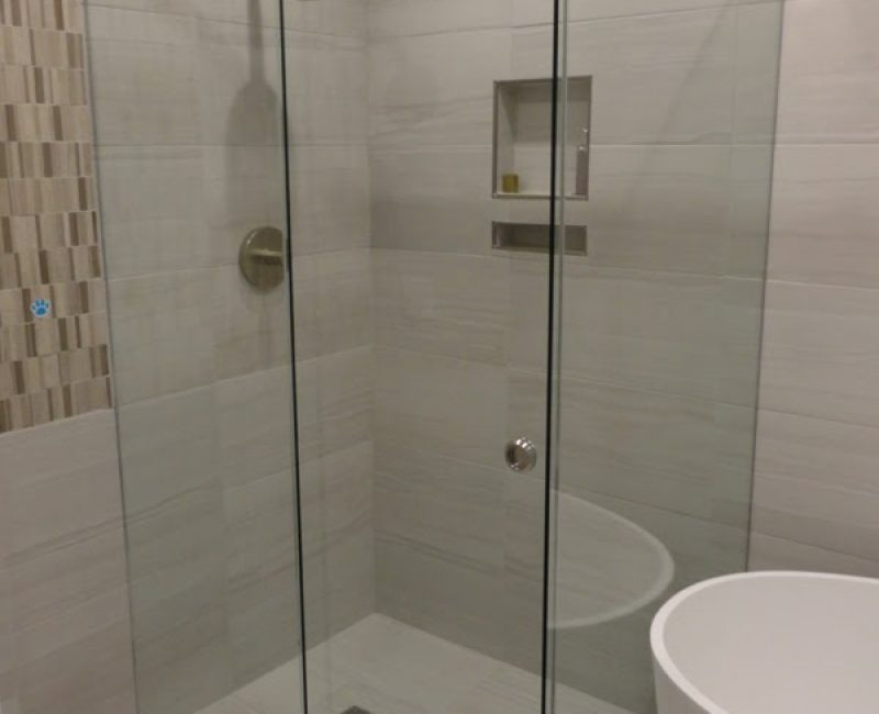 Frameless Sliding Showerscreen