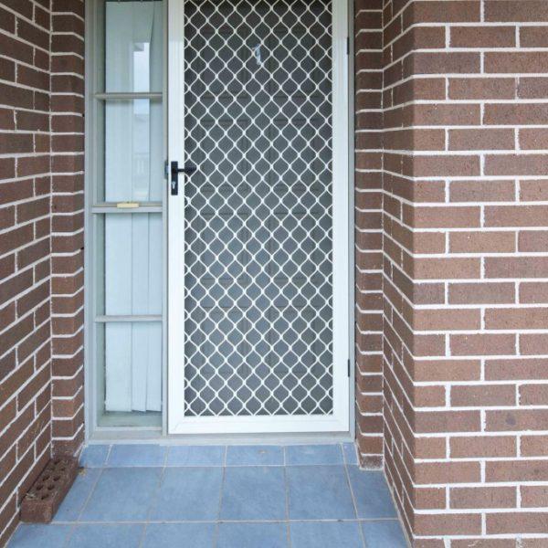 Diamond Grille Door